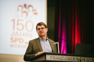 Dr. Ralf Stegner hielt als stellv. SPD Bundesvorsitzender die Festrede