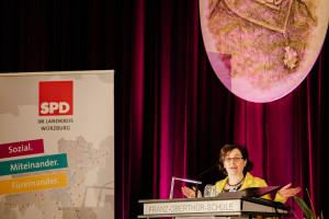 Freya Altenhöner, Vorsitzende der SPD Würzburg-Stadt