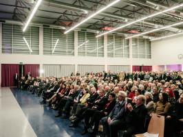 Die Gäste während der Rede von Michael Müller