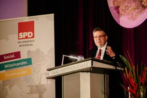 Volkmar Halbleib, Vorsitzender der SPD Würzburg-Land