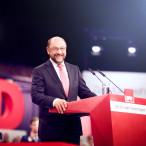 Martin Schulz beim letzten Bundesparteitag (Foto: Kraehahn)