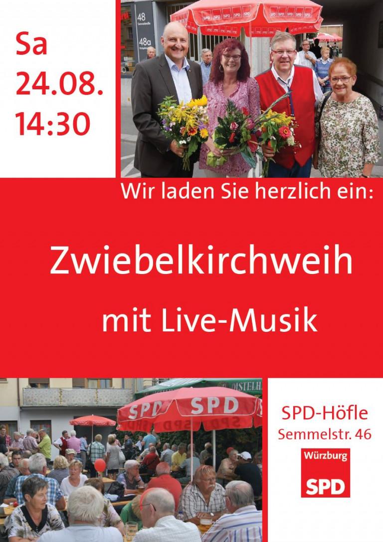 Zwiebelkirchweih Plakat
